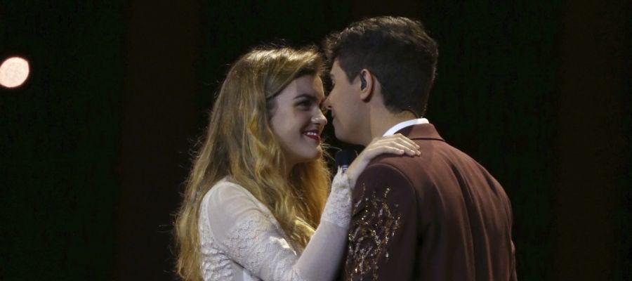 Tercer ensayo de Amaia y Alfred en Eurovisión