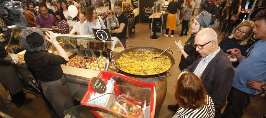 Uno de los expositores participantes en la primera feria Alicante Gastronómica