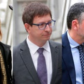 Los exconsellers Vila, Mundò y Borrás