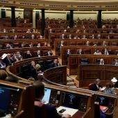 Una sesión del Congreso de los Diputados