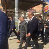 El Ministro, Juan Ignacio Zoido durante su visita a Mallorca