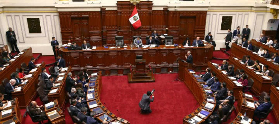 El Congreso de Perú.