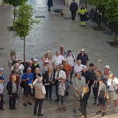 Primeros cruceristas que han llegado hoy a Alicante