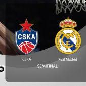 Final Four Semifinal | CSKA - Real Madrid