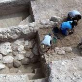 Excavaciones arqueológicas en el yacimiento de La Alcudia de Elche