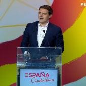 Albert Rivera en la presentación de la plataforma España Ciudadana