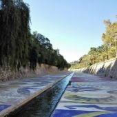 Río Vinalopó a su paso por Elche