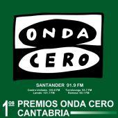 Cartel de los I Premios Onda Cero Cantabria