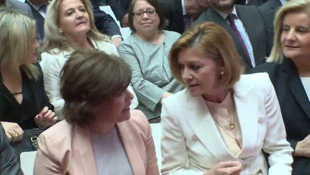 La España que madruga: Kill Bill entre Soraya y Cospedal y Braun invoca a Turandot