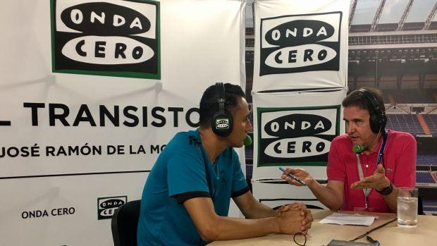 Keylor Navas, portero del Real Madrid, en El Transistor