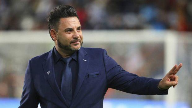 Antonio Mohamed, entrenador del Celta de Vigo.