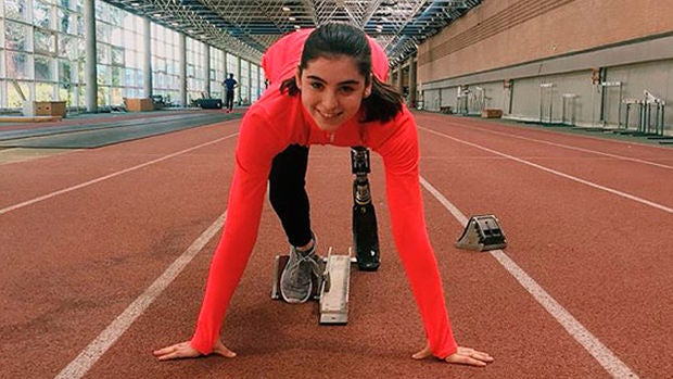 Marta Casado, la joven que tras superar un cáncer sueña con participar en los paralimpicos de Tokio
