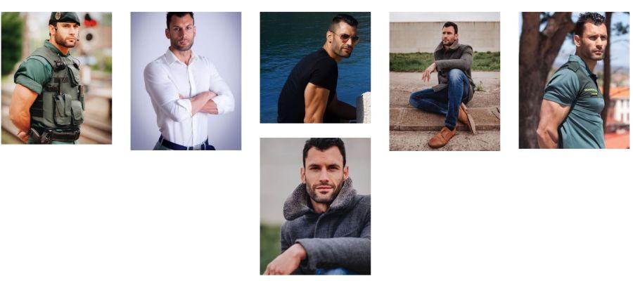 El guardia civil que revolucionó Twitter ficha por una agencia de modelos