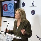 Aurora Galisteo, viceportavoz del PP en el Ayuntamiento