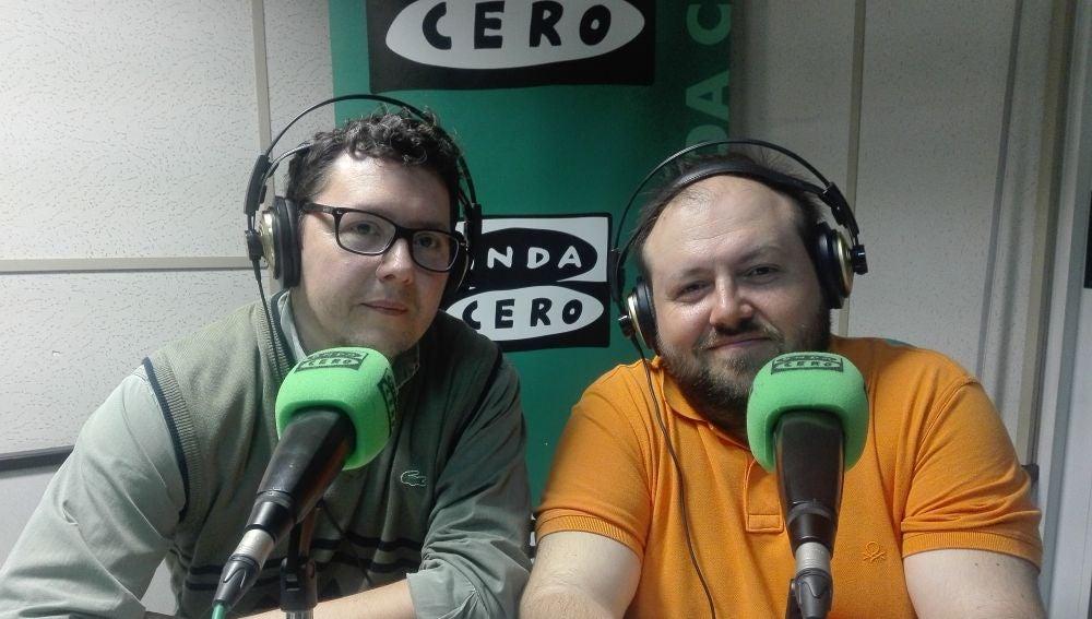 Leonardo Nomdedeu y Eugenio Ghirardi, creadores de Molexplore - Premio Onda Cero de Internet y Nuevas Tecnologías