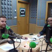 José Antonio Rivas y Manolo Camacho