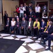 Los 13 consellers de Quim Torra toman posesión de sus cargos