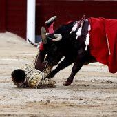 """""""El Cid"""", intervenido de una cornada grave en el muslo derecho"""