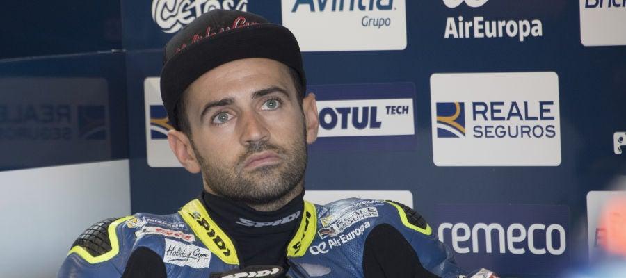 Héctor Barberá, en el GP de San Marino