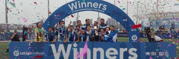 El Espanyol campeón del IV Torneo Internacional LaLiga Promises