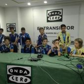 Los jugadores del Espanyol, campeones del IV Torneo Internacional de LaLiga Promises