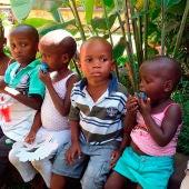 Niños de Babies Uganda