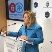Aurora Galisteo, viceportavoz del PP en el Ayuntamiento de Ciudad Real