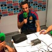 Rodrigo Moreno durante una entrevista en Onda Cero desde el Mundial de Rusia