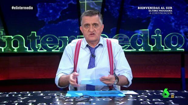 La tele con Monegal: 'El Intermedio' y los problemas de Manolo el del bombo en Rusia