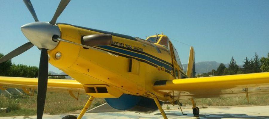 Avioneta del mismo modelo que la desaparecida en Pollença