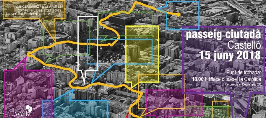 Este paseo ciudadano permitirá conocer la ciudad, reconocer sus espacios y posibilidades.