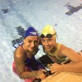 Las nadadoras del Club de Tenis Elche, Mariam Parreño y Marina Lázaro, tuvieron una gran actuación en el Foro Itálico de Roma.