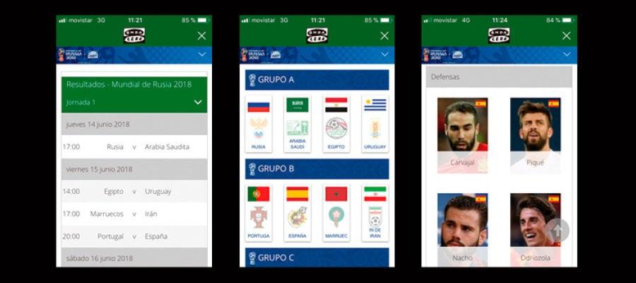 Mundial de Rusia en la App de Onda Cero