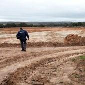Excavación a cielo abierto en la mina de Uranio de Retortillo