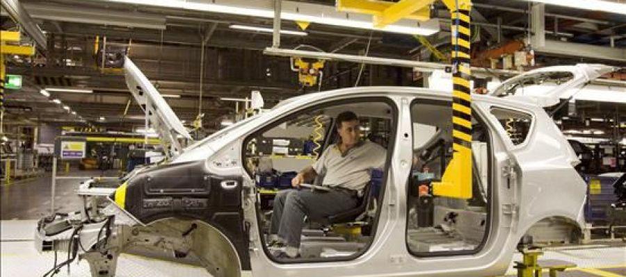 Cadena de montaje Opel