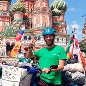 Roberto Fernández en Rusia