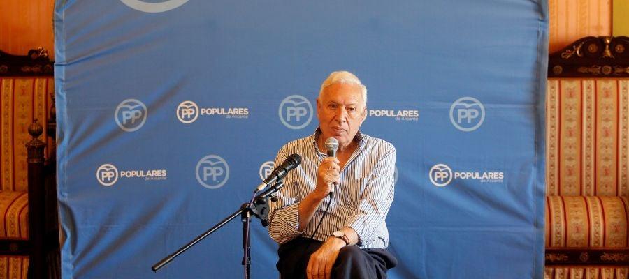 José Manuel García-Margallo presenta su candidatura en Alicante