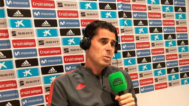 """Fernando Hierro: """"Soy de la opinión de que todo lo bueno y lo malo que pasa en un equipo es grupal"""""""