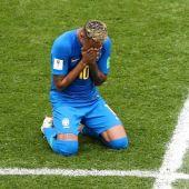 El atacante de Brasil, Neymar Jr.