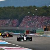 Hamilton, delante de todos en el GP de Francia