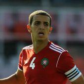 Zou Feddal, jugador de la Selección de Marruecos.