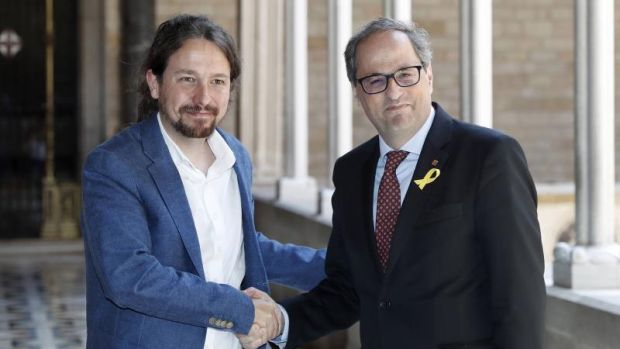 ¿Quién es quién en la mesa de diálogo con Cataluña?