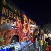 Nuevo bus del Deportivo #NoiteMeiga