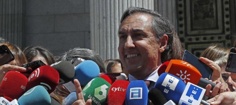 El diputado popular José Ramón García Hernández