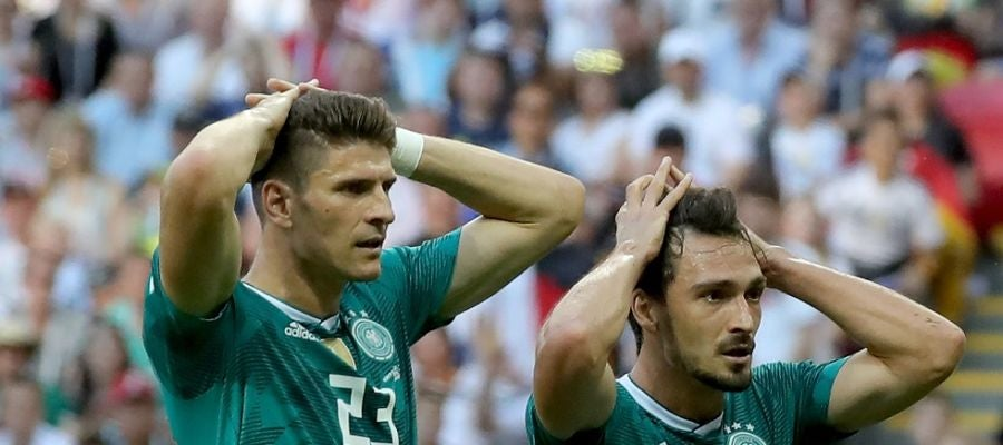 Alemania pierde ante Corea del Sur y cae eliminada en fase de grupos