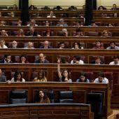 Imagen del Congreso durante la votación de las enmiendas de los Presupuestos Generales del Estado 2018