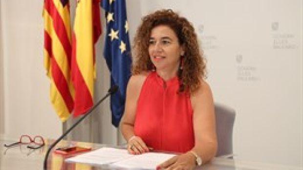 Pilar Costa, portavoz del ejecutivo