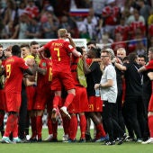 Bélgica celebra una victoria