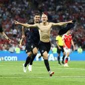 Vida celebra su gol contra Rusia