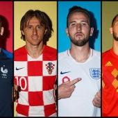 Francia, Croacia, Inglaterra o Bélgica, a por el Mundial
